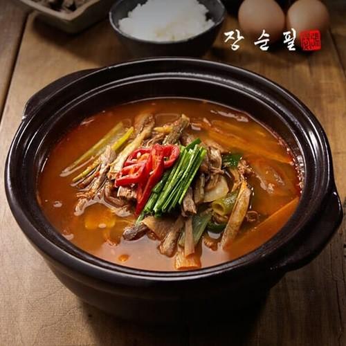 장순필 얼큰 매콤한 가마솥 육개탕(육개장) 600g...