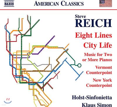 Klaus Simon 스티브 라이히: 8개의 선, 도시에서의 삶 (Steve Reich: Eight Lines, City Life)