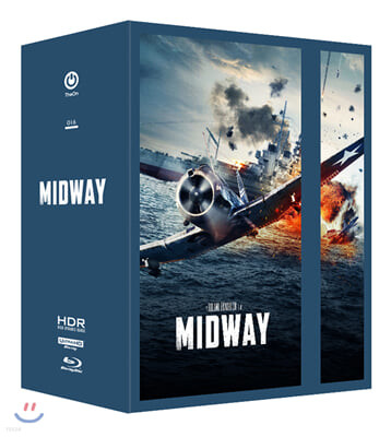 미드웨이 (6Disc 4K UHD, 스틸북 원클릭 박스 한정판) : 블루레이