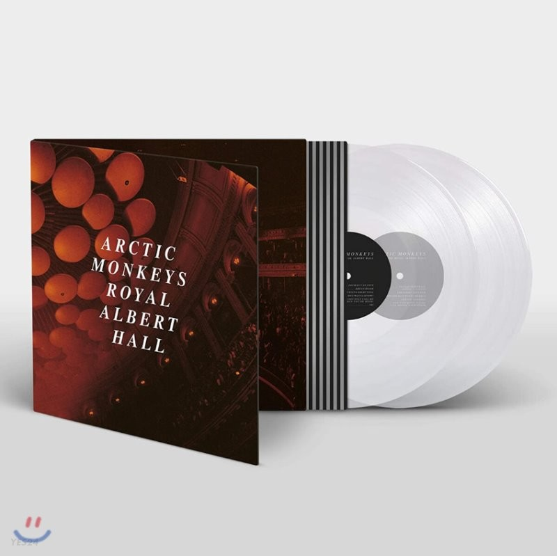 Arctic Monkeys (악틱 몽키즈) - Live at the Royal Albert Hall [투명 컬러 2LP]