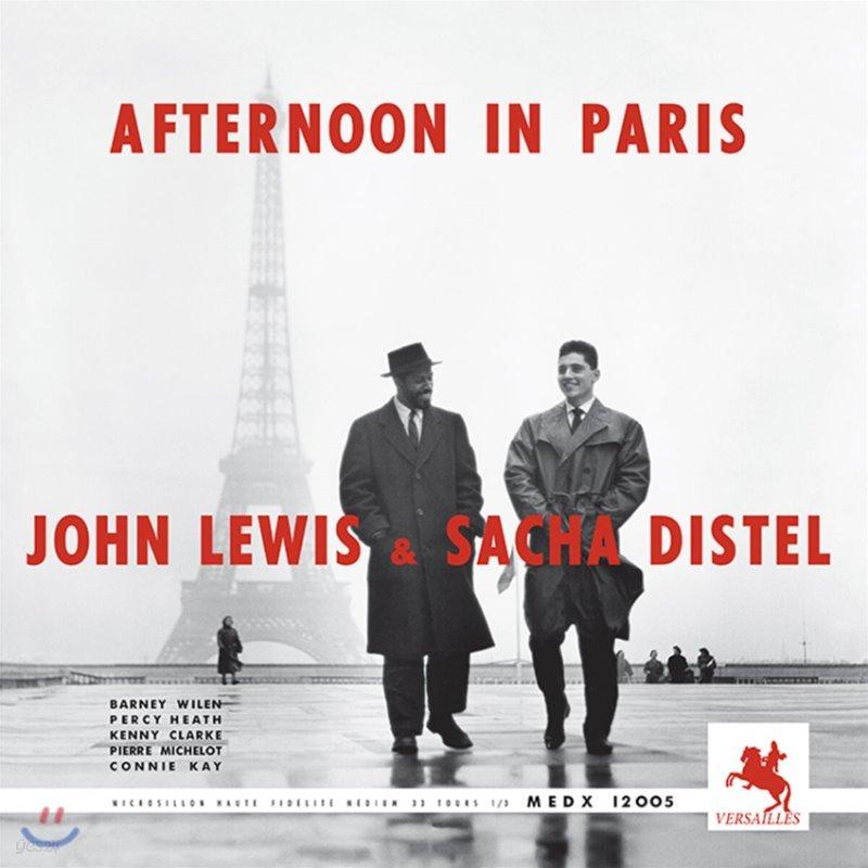 John Lewis & Sacha Distel (존 루이스 & 사샤 디스텔) - Afternoon in Paris (Versailles 1957) [LP]