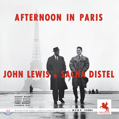 John Lewis & Sacha Distel (존 루이스 & 사샤 디스텔) - Afternoon in Paris (Versailles 1957) [LP]
