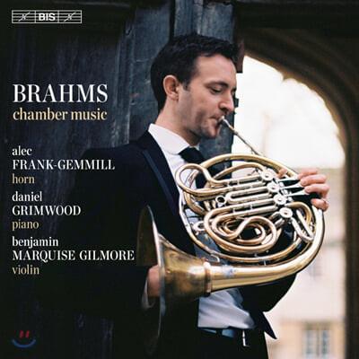 Alec Frank-Gemmill 브람스: 첼로 소나타 1번, 호른 삼중주 (Brahms: Cello Sonata Op.38, Horn Trio Op.40)