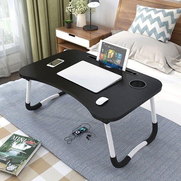 좌석 노트북 책상 접이식 미니 침대 베드 테이블 더쎈