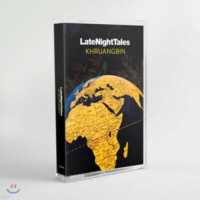 Night Time Stories 레이블 컴필레이션 앨범: 크루앙빈 (Late Night Tales: Khruangbin) [카세트테이프]