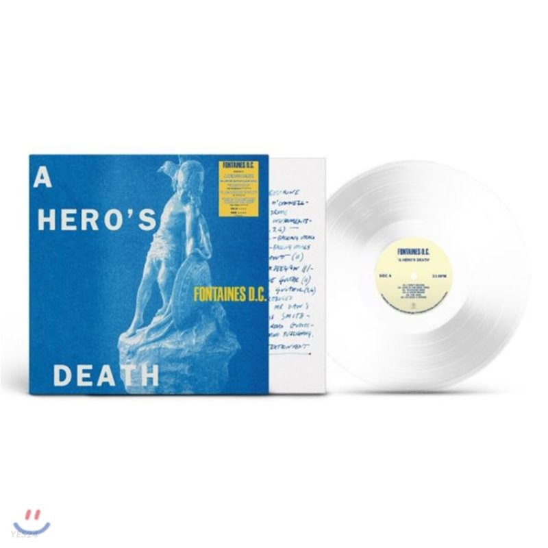 Fontaines D.C. (퐁텐 디씨) - 2집 A Hero's Death [투명 컬러 LP]
