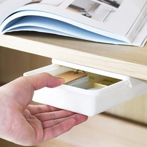 슬라이딩 책상부착서랍 (소형)