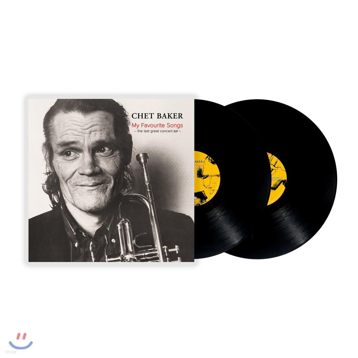 Chet Baker (쳇 베이커) - My Favourite Songs: The Last Great Concert [2LP]