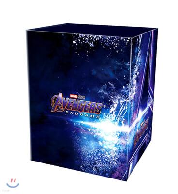 어벤져스: 엔드게임 (12Disc 4K UHD One Click Box 스틸북 한정판) : 블루레이
