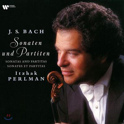 Itzhak Perlman 바흐: 무반주 바이올린 소나타와 파르티타 (J.S. Bach: Complete Sonatas & Partitas) [3LP]