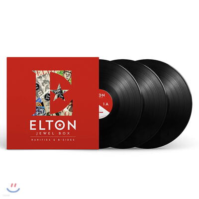 Elton John (엘튼 존) - Jewel Box : Rarities & B-Sides [3LP]