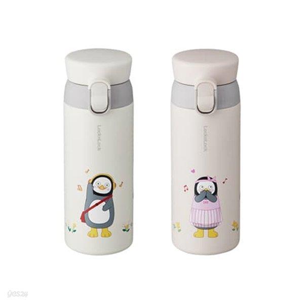 락앤락 펭수 워너비 원터치 텀블러 350ml 보온보냉물병