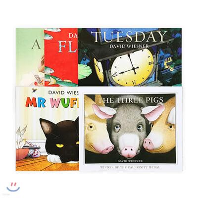 데이비드 위즈너 원서 그림책 페이퍼백 5종 세트 David Wiesner - 5 Books Set