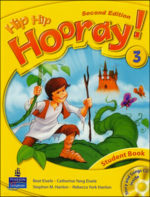 Hip Hip Hooray 3 : Student Book + CD (For Asia)