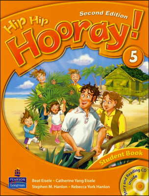 Hip Hip Hooray 5 : Student Book + CD (For Asia)