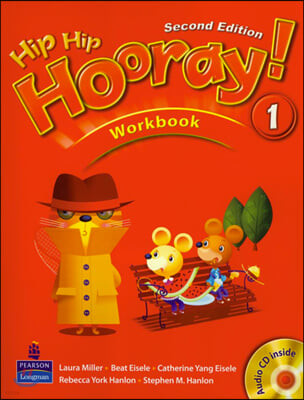 Hip Hip Hooray 1 : Workbook + CD (For Asia)