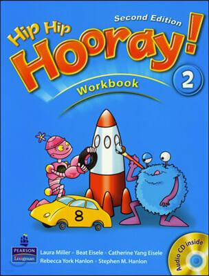 Hip Hip Hooray 2 : Workbook + CD (For Asia)
