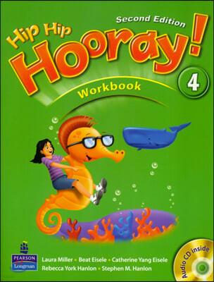Hip Hip Hooray 4 : Workbook + CD (For Asia)