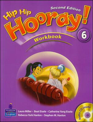 Hip Hip Hooray 6 : Workbook + CD (For Asia)