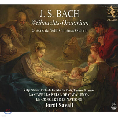 Jordi Savall 바흐: 크리스마스 오라토리오 (J.S. Bach: Christmas Oratorio BWV248)