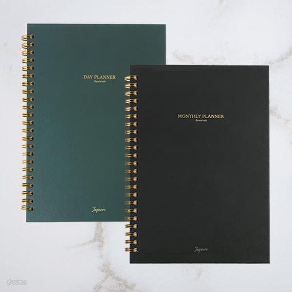 [세트] Reservoir 플래너 1년 세트(100일 데이 플래너 3권 + 먼슬리 플래너 1권)