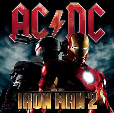 AC/DC (에이씨디씨) - Iron Man 2 [2LP]