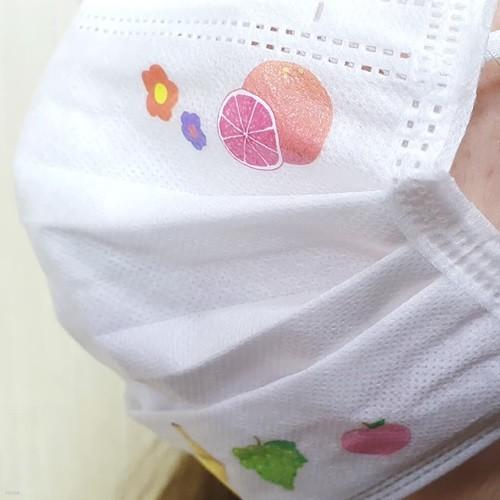 마스크꾸미기스티커 과일
