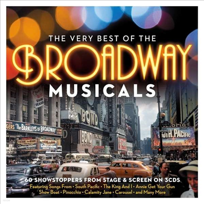 Various Artists - Very Best Of The Broadway Musicals (Digipack)(3CD)