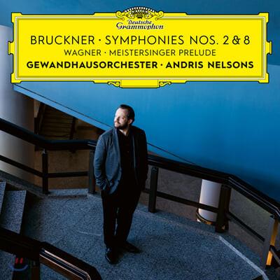 Andris Nelsons 브루크너: 교향곡 2, 8번 / 바그너: 뉘른베르크의 명가수 전주곡 (Bruckner: Symphonies Nos. 2, 8)