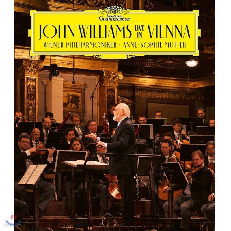 존 윌리엄스 빈 실황녹음 (John Williams Live in Vienna) [블루레이]