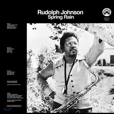 Rudolph Johnson (루돌프 존슨) - Spring Rain [LP]