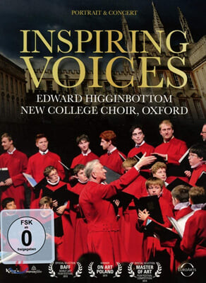에드워드 히긴버텀의 초상 - 영국 합창 음악 (Inspiring Voices: Edward Higginbottom / New College Choir Oxford)