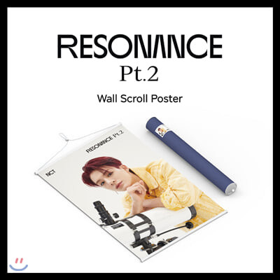 NCT - 월 스크롤 포스터 [제노 RESONANCE Pt.2 ver] [주문제작 한정판]