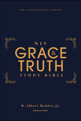 Niv, the Grace and Truth Study Bible, Hardcover, Red Letter, Comfort Print