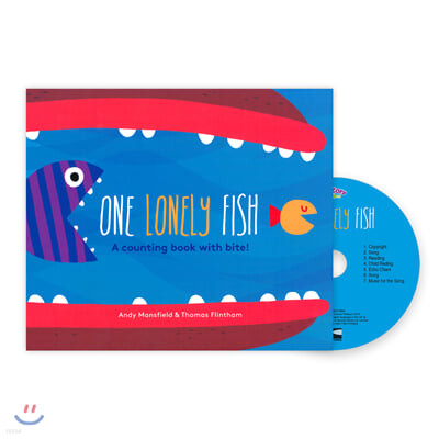 Pictory Set Infant & Toddler 27 : One Lonely Fish (Book & CD)