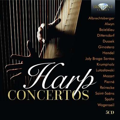하프 협주곡집 (Harp Concertos) (5CD) - 여러 아티스트