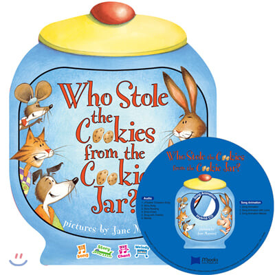 [노부영 세이펜] Who Stole the Cookies from the Cookie Jar? (원서 & 노부영 부록 CD)