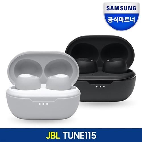JBL TUNE115 TWS 블루투스 5.0 커널형 이어폰 퓨...