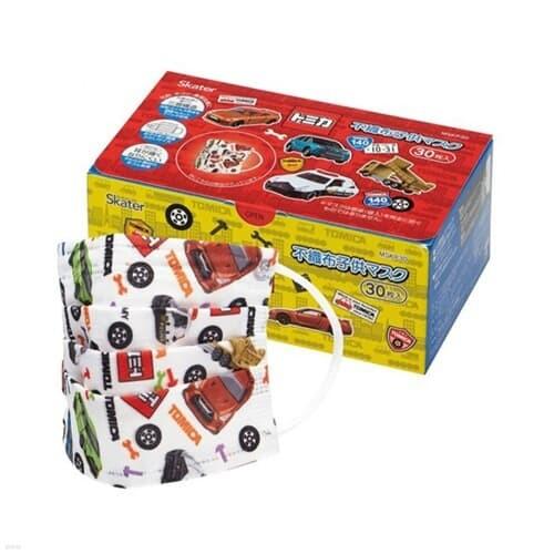 스케이터 토미카18 어린이플리츠 마스크 박스(30매)