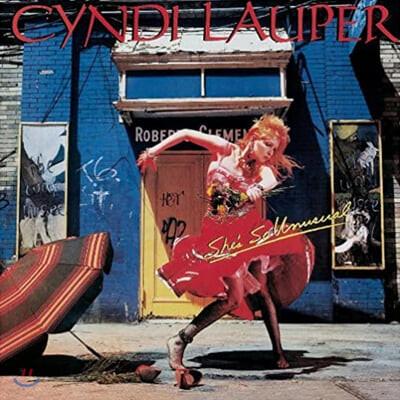 Cyndi Lauper (신디 로퍼) - She's So Unusual [레드 컬러 LP]