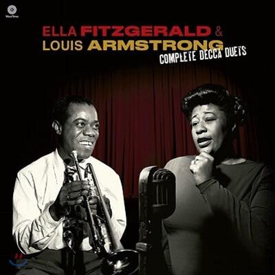 Ella Fitzgerald / Louis Armstrong (엘라 피츠제럴드 / 루이 암스트롱) - The Complete Decca Duets [LP]