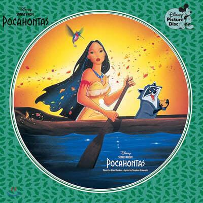 월트 디즈니 애니메이션 `포카혼타스` 영화음악 (Pocahontas OST by Alan Menken) [픽쳐디스크 LP]