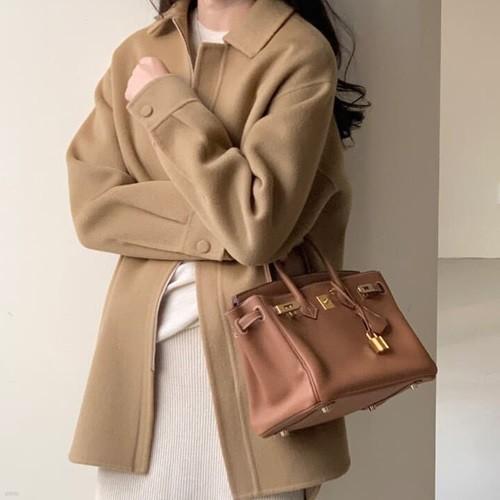 보웬 집업 핸드자켓(카멜 바로배송)
