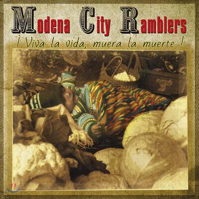 Modena City Ramblers (모데나 시티 램블러즈) - ¡Viva La Vida, Muera La Muerte! [레드 컬러 LP]