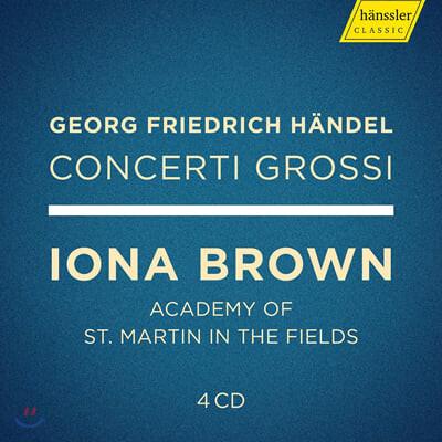 Iona Brown 헨델: 합주 협주곡 전곡 (Handel: Concerti Grossi Op.3, Op.6)