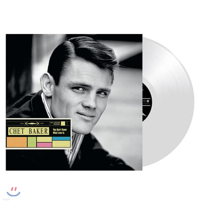 Chet Baker (쳇 베이커) - You Don't Know What Love Is [투명 컬러 LP]