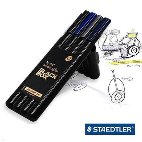 스테들러 트리플러스 블랙 스페셜 에디션 4p