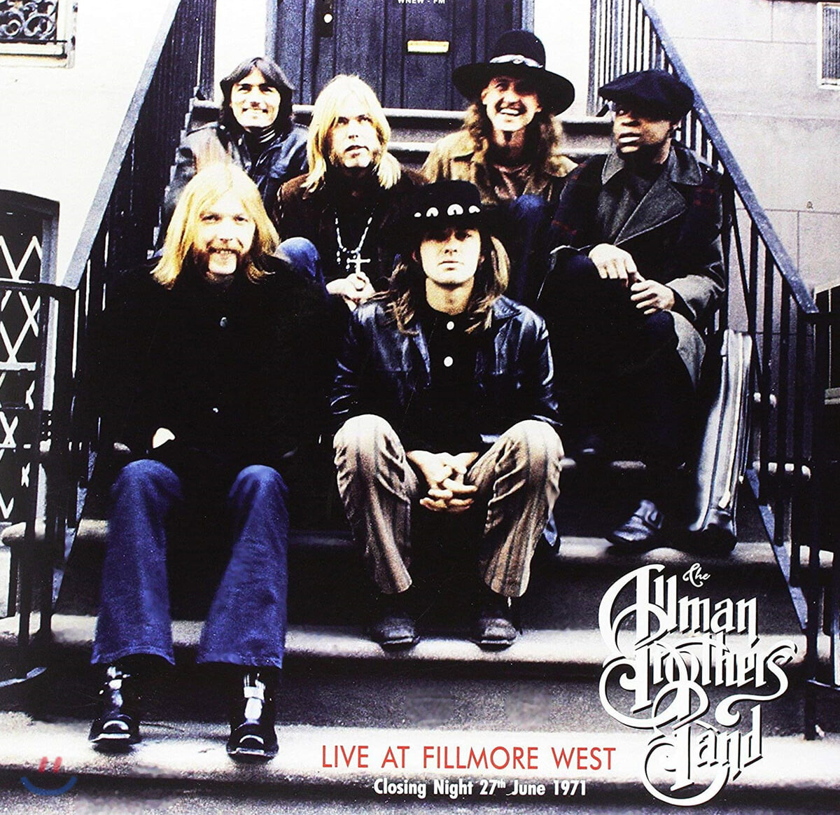 The Allman Brothers Band (올맨 브라더스 밴드) - Live At Fillmore West Closing Night 27th June 1971 [2LP]