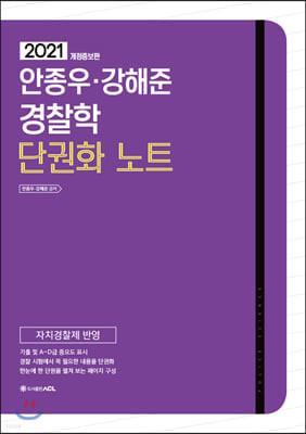 2021 ACL 안종우 강해준 경찰학 단권화노트