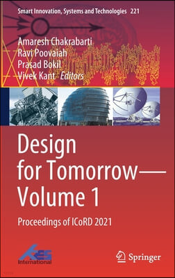 Design for Tomorrow--Volume 1: Proceedings of Icord 2021